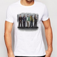 BREAKING BAD THE USUAL SUSPECTS T-SHIRT