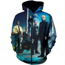 BREAKING BAD ANTAGONISTS ALL OVER PRINT HOODIE