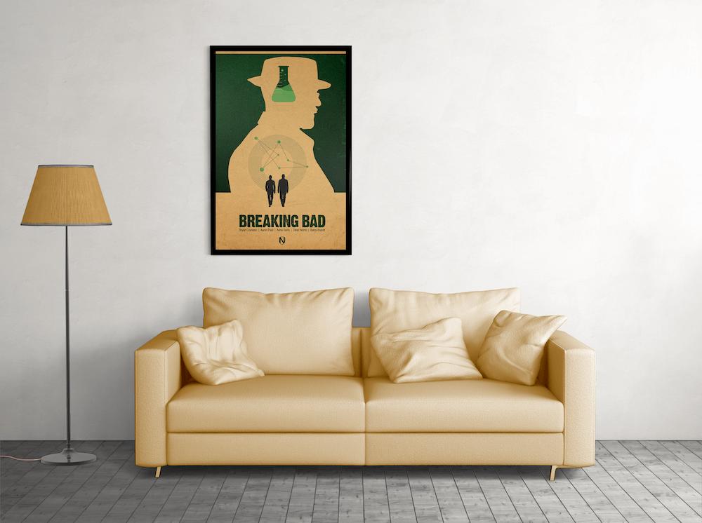 HEISENBERG, A METH HEAD ORIGINAL POSTER
