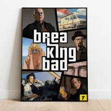 GRAND BREAKING BAD POSTER