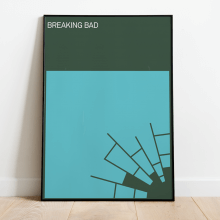MINIMALIST BREAKING BAD POSTER
