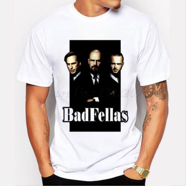 BREAKING BAD FELLAS T-SHIRT 4