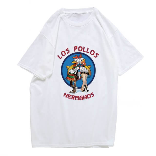 Breaking Bad Los Pollos Hermanos T-Shirt White